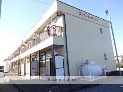 静岡県浜松市西区、浜松駅遠鉄バスバス35分神田原下車後徒歩5分の築24年 2階建の賃貸アパート
