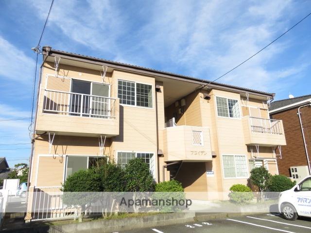 静岡県浜松市中区、浜松駅徒歩10分の築28年 2階建の賃貸アパート