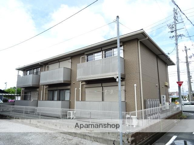 静岡県浜松市浜北区、遠州西ヶ崎駅徒歩13分の築5年 2階建の賃貸アパート