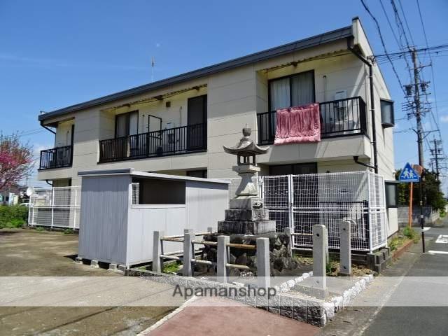 静岡県浜松市北区、浜松駅遠鉄バスバス30分三方原西下車後徒歩6分の築15年 2階建の賃貸アパート