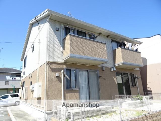 静岡県浜松市西区、浜松駅遠鉄バスバス30分坪井西下車後徒歩4分の築4年 2階建の賃貸アパート