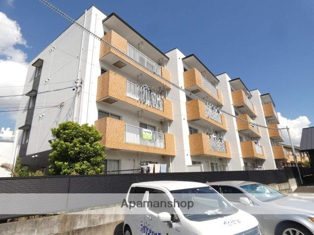 静岡県浜松市東区、天竜川駅徒歩13分の築28年 4階建の賃貸マンション