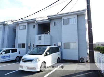 静岡県浜松市東区、浜松駅バス20分安間下車後徒歩3分の築25年 2階建の賃貸アパート