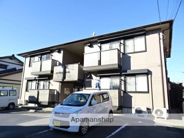 静岡県浜松市南区、浜松駅遠鉄バスバス18分西若林下車後徒歩3分の築15年 2階建の賃貸アパート
