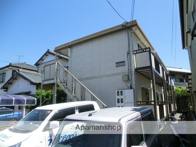 静岡県浜松市中区、浜松駅遠州鉄道バスバス10分ムトウ下車後徒歩3分の築23年 2階建の賃貸アパート