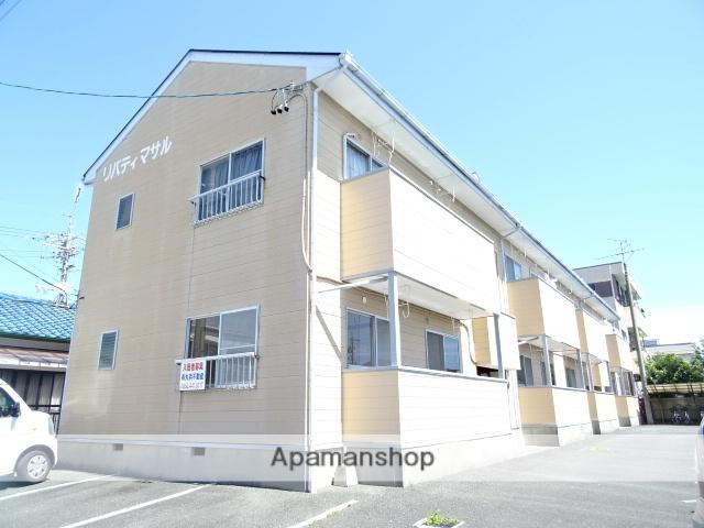 静岡県浜松市中区、浜松駅遠鉄バスバス22分西郵便局下車後徒歩4分の築28年 2階建の賃貸アパート