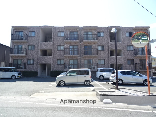 静岡県浜松市東区、天竜川駅徒歩18分の築21年 3階建の賃貸マンション