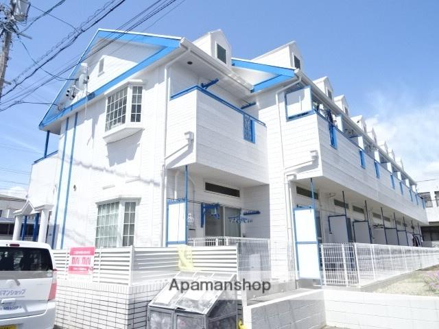静岡県浜松市中区、浜松駅バス25分平下車後徒歩3分の築27年 2階建の賃貸アパート