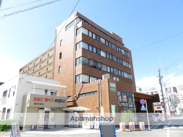 静岡県浜松市中区、浜松駅徒歩5分の築32年 9階建の賃貸マンション