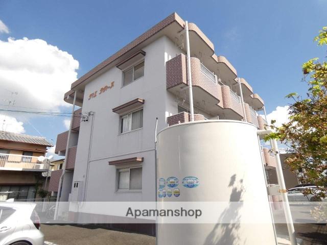 静岡県浜松市東区、天竜川駅徒歩15分の築22年 3階建の賃貸マンション