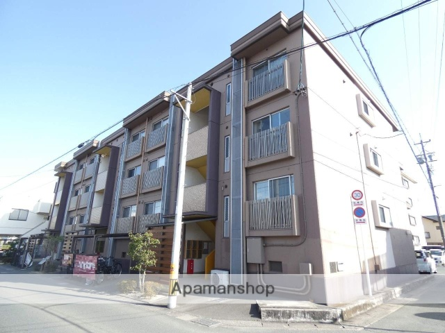 静岡県浜松市東区、天竜川駅徒歩29分の築34年 3階建の賃貸マンション