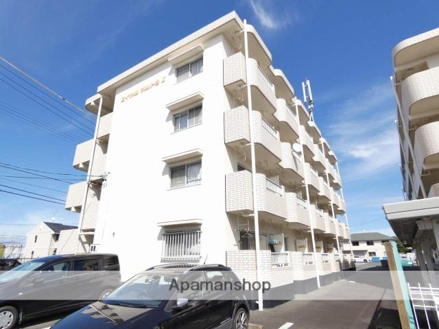 静岡県浜松市東区、天竜川駅徒歩15分の築23年 4階建の賃貸マンション