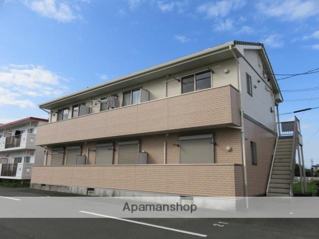 静岡県浜松市南区、浜松駅遠鉄バスバス30分西町下車後徒歩4分の築10年 2階建の賃貸アパート