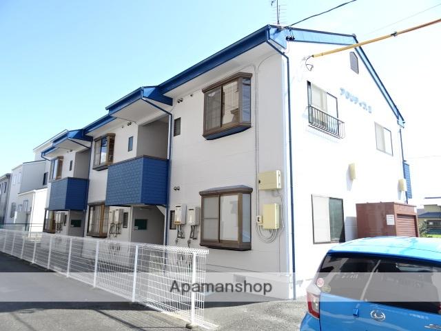 静岡県浜松市南区、浜松駅遠鉄バスバス15分かに草下車後徒歩3分の築20年 2階建の賃貸アパート