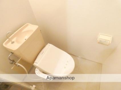 静岡県浜松市浜北区中条[1K/30.16m2]のトイレ
