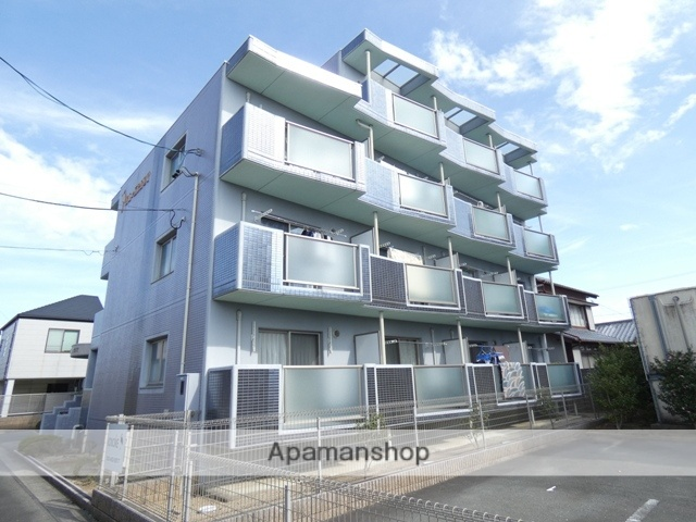 静岡県浜松市浜北区、遠州西ヶ崎駅徒歩21分の築10年 4階建の賃貸マンション