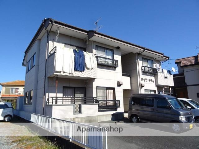 静岡県浜松市浜北区、遠州小松駅徒歩22分の築21年 2階建の賃貸アパート