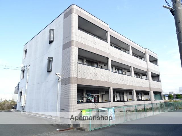 静岡県浜松市東区、浜松駅遠鉄バスバス20分五軒家下車後徒歩3分の築16年 3階建の賃貸マンション
