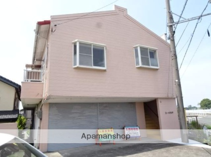 静岡県浜松市中区、浜松駅バス12分茄子橋下車後徒歩2分の築31年 2階建の賃貸アパート