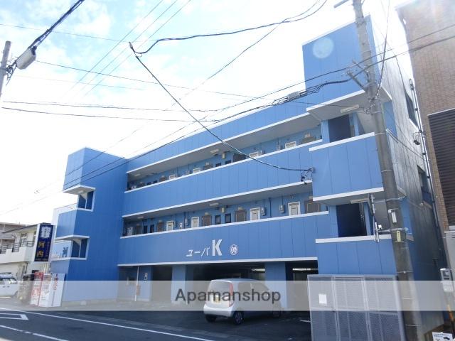 静岡県浜松市中区、浜松駅バス13分駒形橋下車後徒歩4分の築23年 3階建の賃貸マンション