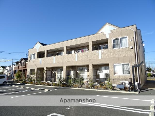 静岡県浜松市南区、浜松駅遠鉄バスバス25分高塚東下車後徒歩5分の築5年 2階建の賃貸アパート