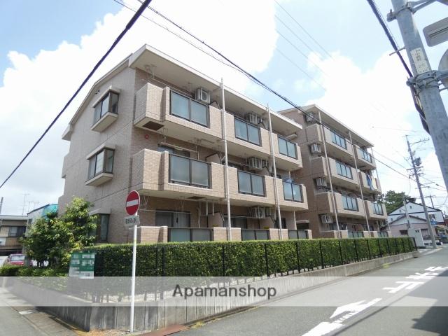 静岡県浜松市中区、浜松駅徒歩17分の築17年 4階建の賃貸マンション