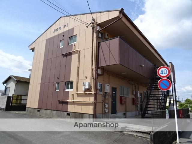 静岡県浜松市北区、浜松駅バス30分三幸町下車後徒歩2分の築30年 2階建の賃貸アパート