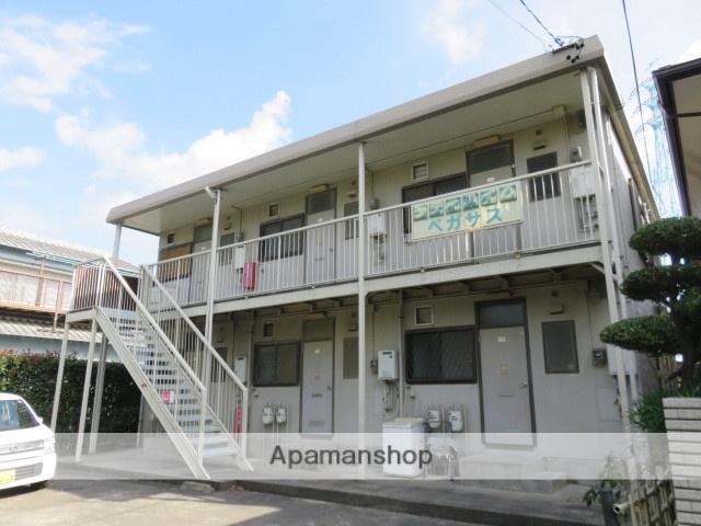 静岡県浜松市中区、浜松駅遠鉄バスバス10分向宿町下車後徒歩8分の築25年 2階建の賃貸アパート