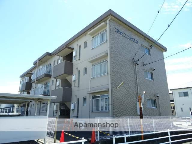 静岡県浜松市南区、天竜川駅徒歩29分の築28年 3階建の賃貸マンション