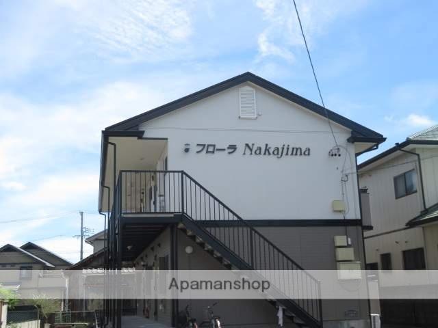 静岡県浜松市中区、浜松駅遠鉄バスバス5分中島下車後徒歩3分の築18年 2階建の賃貸アパート