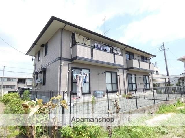 静岡県浜松市浜北区、遠州小松駅徒歩20分の築17年 2階建の賃貸アパート