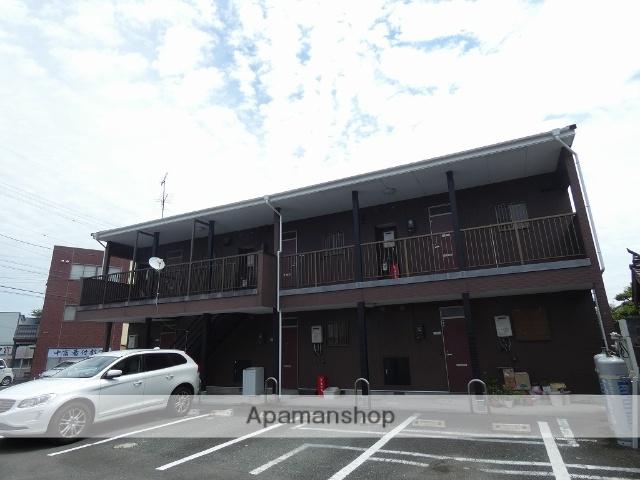 静岡県浜松市東区、上島駅徒歩13分の築20年 2階建の賃貸アパート