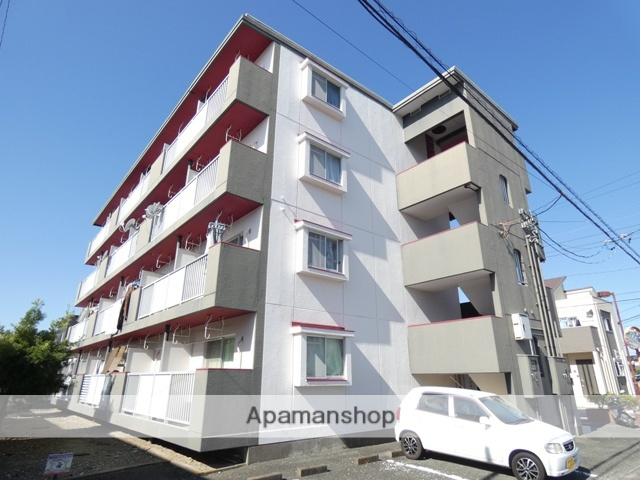 静岡県浜松市南区、天竜川駅徒歩30分の築32年 4階建の賃貸マンション