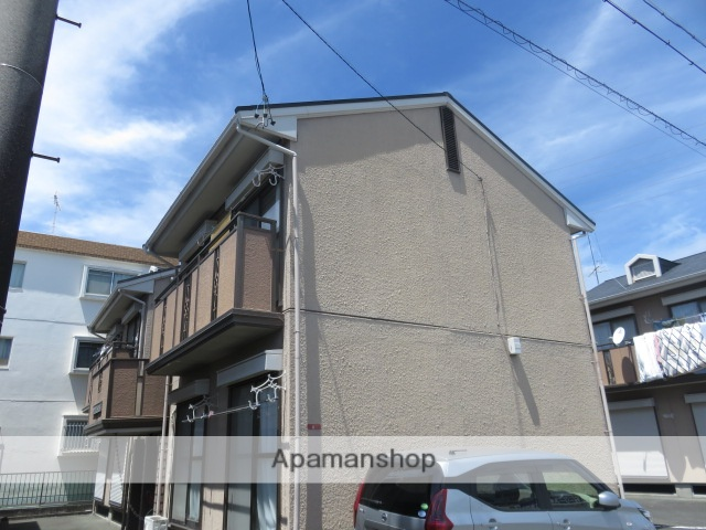 静岡県浜松市中区、浜松駅徒歩22分の築25年 2階建の賃貸アパート
