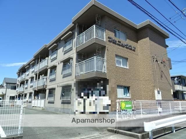 静岡県浜松市南区、天竜川駅徒歩25分の築27年 3階建の賃貸マンション