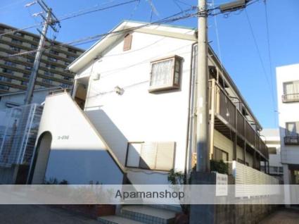 静岡県浜松市中区、浜松駅徒歩12分の築27年 2階建の賃貸アパート