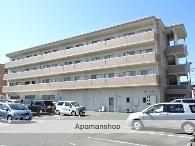 静岡県浜松市東区、天竜川駅徒歩17分の築10年 4階建の賃貸マンション