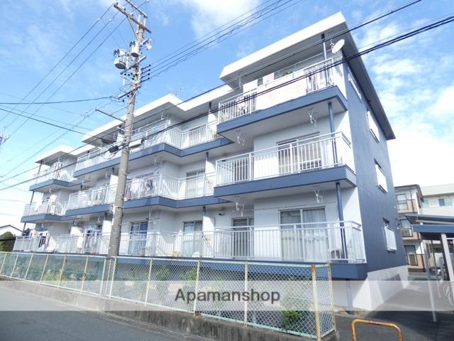 静岡県浜松市東区、天竜川駅徒歩25分の築34年 3階建の賃貸マンション