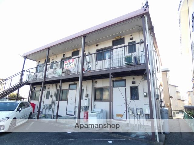 静岡県浜松市南区、浜松駅バス14分本郷東下車後徒歩3分の築37年 2階建の賃貸アパート