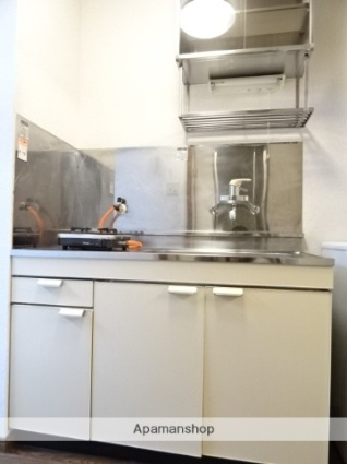 静岡県浜松市北区三方原町[1K/22.68m2]のキッチン