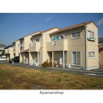 静岡県浜松市南区、浜松駅遠鉄バスバス22分下江町下車後徒歩4分の築17年 2階建の賃貸テラスハウス