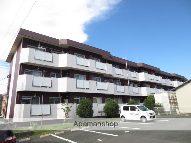 静岡県浜松市中区、浜松駅遠鉄バスバス12分柳通り下車後徒歩12分の築28年 3階建の賃貸マンション