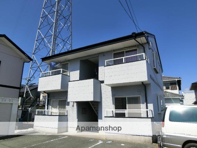 静岡県浜松市中区、浜松駅バス18分阿弥陀下車後徒歩6分の築21年 2階建の賃貸アパート