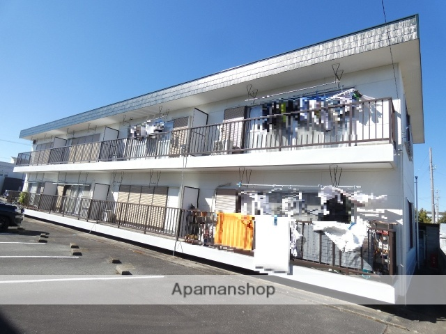 静岡県浜松市東区、浜松駅バス40分内野小島下車後徒歩10分の築30年 2階建の賃貸アパート