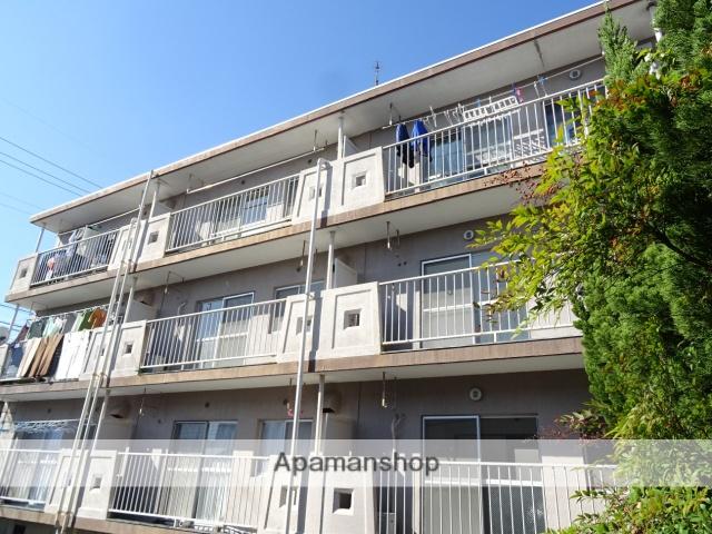 静岡県浜松市東区、天竜川駅徒歩19分の築38年 3階建の賃貸マンション