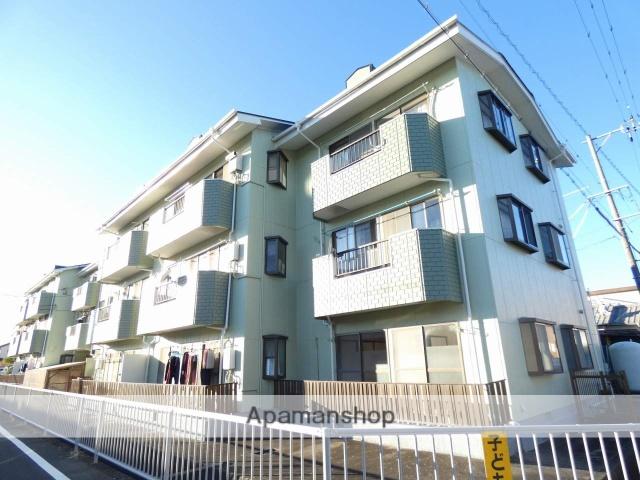 静岡県浜松市南区、天竜川駅徒歩24分の築29年 3階建の賃貸マンション