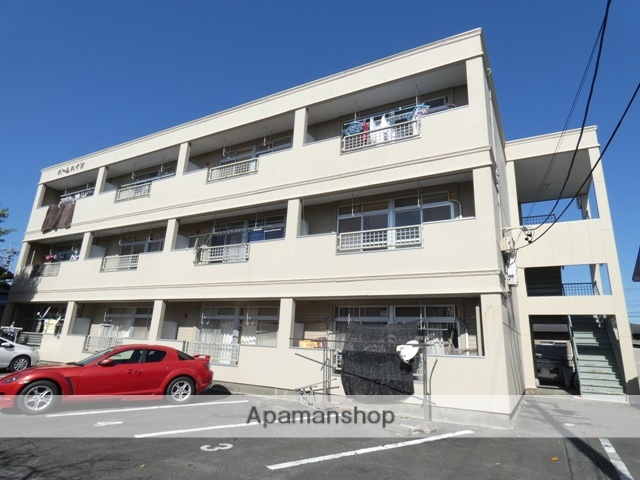 静岡県浜松市南区、天竜川駅徒歩40分の築31年 3階建の賃貸アパート