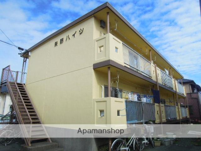 静岡県浜松市南区、浜松駅遠鉄バスバス20分本郷南下車後徒歩4分の築33年 2階建の賃貸アパート