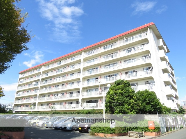 静岡県浜松市中区、浜松駅徒歩11分の築42年 7階建の賃貸マンション