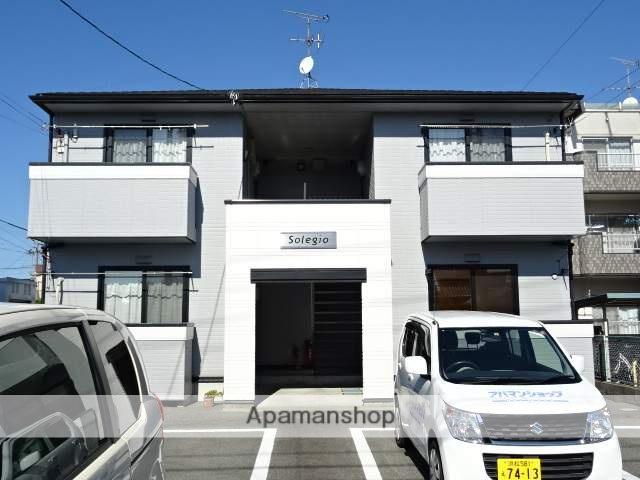 静岡県浜松市中区、浜松駅遠鉄バスバス15分細島町下車後徒歩3分の築15年 2階建の賃貸アパート